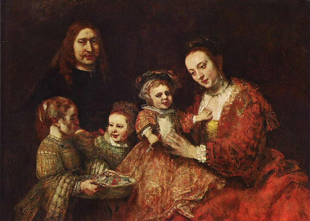Rembrandt. Family Portrait . 1665. Oil on canvas. Herzog-Anton-Ulrich ...